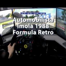Automobilista - Imola 1988 - Formula Retro