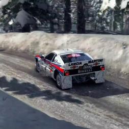 Dirt Rally PC: Test for RD Rally Champ.Season 8 - Lancia 037 Evo2 - Sweden