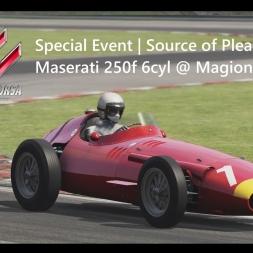 Assetto Corsa | Source of Pleasure Achievement | Maserati 250f 6cyl @ Magione 1:35:215min