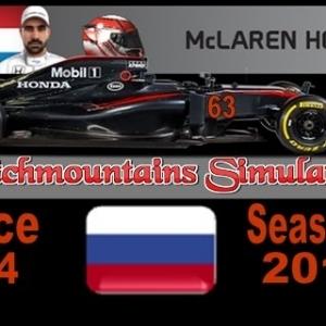 F1 2016 Career Season 4 Russia