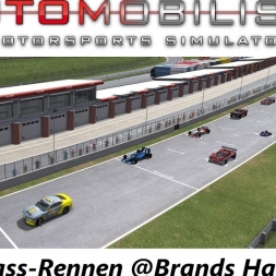 Let's Play - Automobilista Beta (1.1.82b) - A very special multi-class race @Brands Hatch Indy
