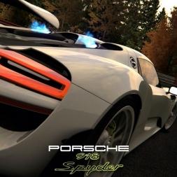 Assetto Corsa - DLC + MOD - Porsche 918 Spyder  @ Nordschleife Fall MOD - PC 60FPS