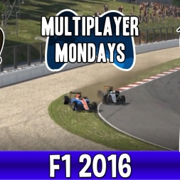 Multiplayer Mondays F1 2016 Highlights - Love Taps & The Duel