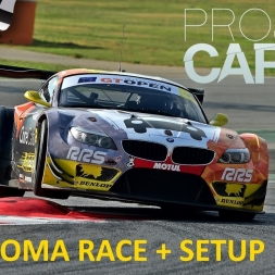 Project CARS Somona Race with BMW Z4 GT3 + setup