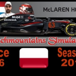 F1 2016 Career Season 4 Monaco