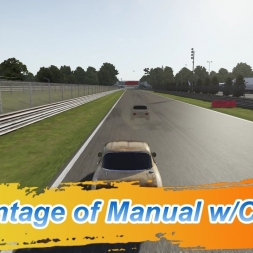Forza Motorsport 6: Advantage of Manual w/clutch