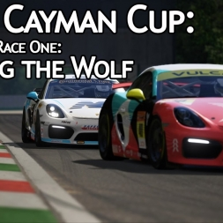 ACRL Cayman Cup R1R1 : Hunting the Wolf (Cayman GT4 @ Monza)