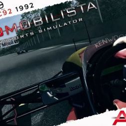 Automobilista Venturi LC92 1992 By ASRformula Real Onboard Cam at Montreal