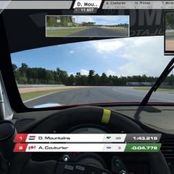 Raceroom GT3@Zolder Adaptive AI first race