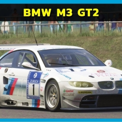Assetto Corsa - BMW M3 GT2 at Silverstone Classic (PT-BR)
