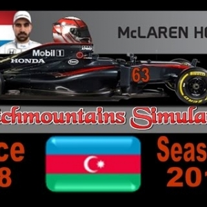 F1 2016 Career Season 4 Baku