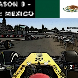 F1 2016 - F1XL Season 8 - Race 13: Mexico