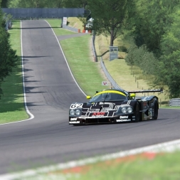 Assetto Corsa: 1988 Sauber C9 @ Brands Hatch GP - Group C