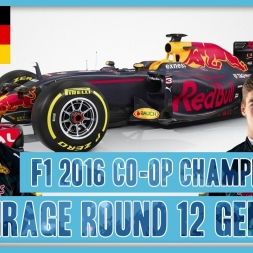 TwinRaGe Youtube Co-op Championship F1 2016 - Round 12 Germany
