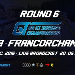 RD GT Championship | R6 Spa-Francorchamps