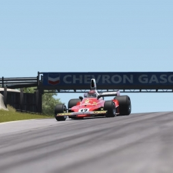 Ferrari 312T @Bridgehampton | Assetto Corsa Gameplay