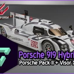ASSETTO CORSA | PORSCHE PACK II | PORSCHE 919 HYBRID + VISOR X - ESPAÑOL HD -