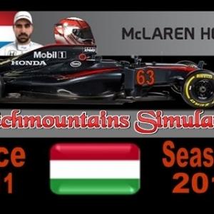 F1 2016 Career Season 4 Hungary