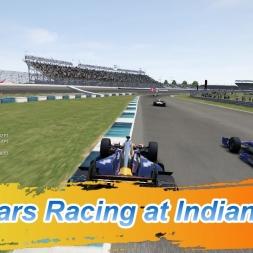 Indy Cars Racing at Indianapolis