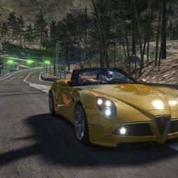 Okutama Touge 2 - Assetto Corsa - Alfa Romeo 8C Cabrio