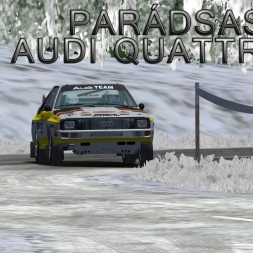 Audi Quattro S1 | Parádsasvár (Monte Edition)