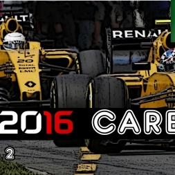 F1 2016 Career - S2R20: Brazil - Beat The Contenders