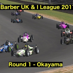 iRacing - UK & I Skip Barber League 2017 S1 - Round 1 @ Okayama