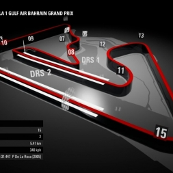 F1 2016 Bahrain GP TV Style Series Round 2