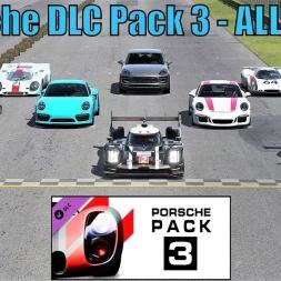Porsche DLC Pack 3 - ALL CARS - Monza - Assetto Corsa