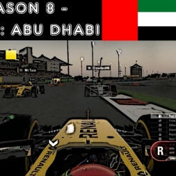 F1 2016 - F1XL Season 8 - Race 14: Abu Dhabi