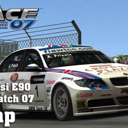 Race07 | Hotlap | BMW 320si E90 WTCC 2007 | Brands Hatch 07 [1:31.805]