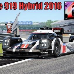 Porsche 919 Hybrid LMP1 2016 HOTLAP at Silverstone - Porsche DLC Pack 3 - Assetto Corsa