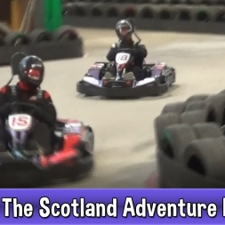VLOG The Scotland Adventure - Day 2 Twin Vs RaGe Go Karting