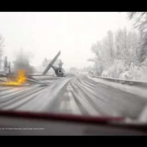 Meanwhile in Germany; Storm troopers crash their TIE Fighter on the Highway ;)