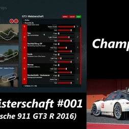 Creating Custom Championships in Assetto Corsa (1.11.1) - German Let's Play