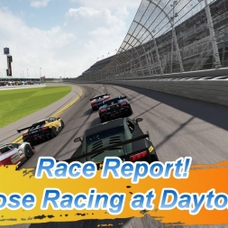 Race Report! Close Racing at Daytona