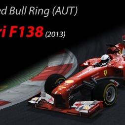 Ferrari F138 +20kg - 1.07.189 @Red Bull Ring (Austria) - Assetto Corsa 1.9.3