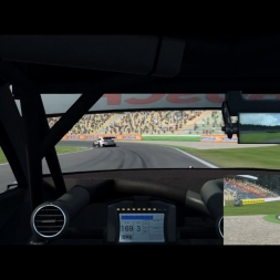 R3E Public Server | DTM 2016 Battle for 1st @ Hockenheim