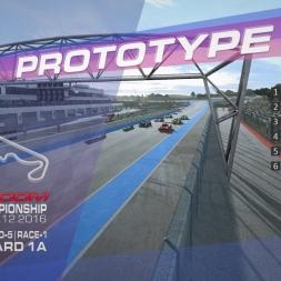 RaceRoom | P2/S1: Online Championship`16 (R-5/Race-1-2 Paul Ricard 1A)