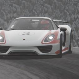 Assetto Corsa | Porsche 918 Spyder | Trento Bondone Winter