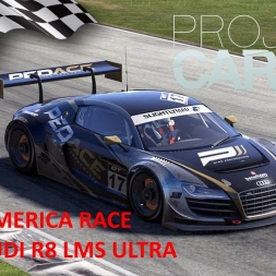 Project CARS Road America Race with Audi R8 LMS Ultra + setup