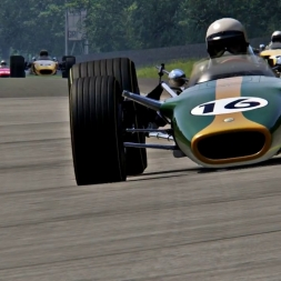 Assetto Corsa - Lotus_49 vintage battle vs Monza66