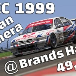 Assetto Corsa | BTCC 1999 | Nissan Primera | Brands Hatch Indy | 49,978