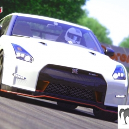Assetto Corsa - GTR Nismo - 2k Gameplay 1440p 60fps - Graphics mod