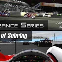 rFactor 2 - Endurance Series  - Sebring - Zytek Z11SN