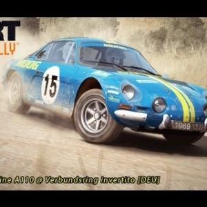 Dirt Rally - Renault Alpine A110 @ Verbundsring invertito [DEU]