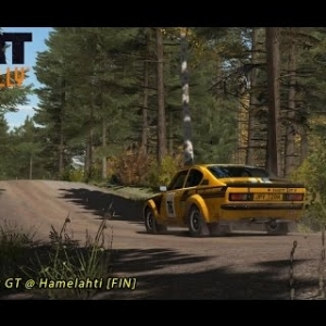 Dirt Rally - Opel Kadett GT/E 16V @ Hamelahti
