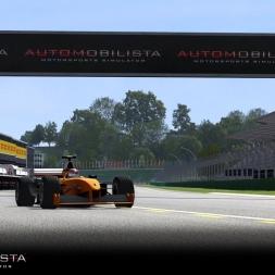 Hot Lap #7 - Automobilista v.1.1.6 - Formula V10 @ Imola 2001 (visuale esterna)