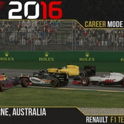 F1 2016 // Career Mode S2, R1 - Australia [60fps]