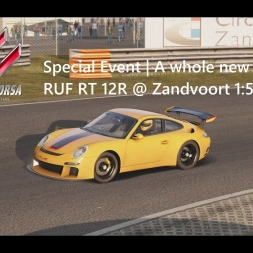 Assetto Corsa | Special Event A whole new toy! | RUF RT 12R @ Zandvoort 1:50:592 min